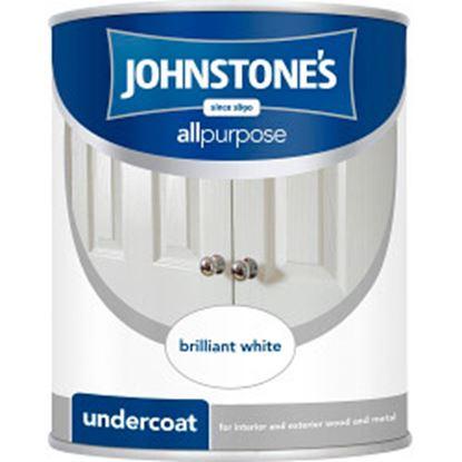 Picture of Johnstones All Purpose Undercoat 750ml Brilliant White