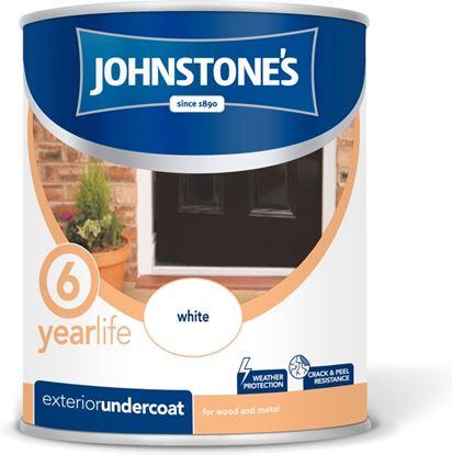 Picture of Johnstones Exterior Undercoat 750ml White