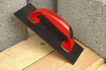 Picture of Linic Plastering Float Red handle. Black base - 278 x 114mm