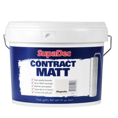 Picture of SupaDec Contract Matt Emulsion Paint 10L Magnolia