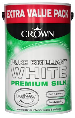 Picture of Crown Silk Emulsion 6L Pure Brilliant White