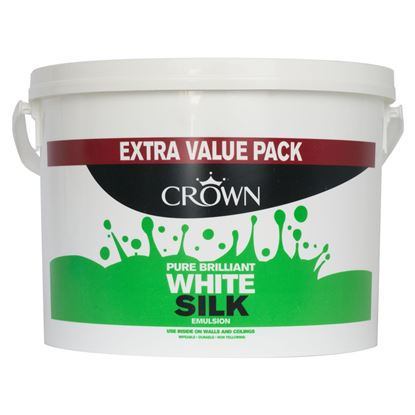 Picture of Crown Silk Emulsion 7.5L Pure Brilliant White