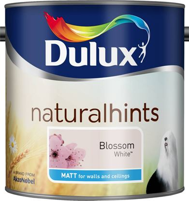 Picture of Dulux Natural Hints Matt 2.5L Blossom White