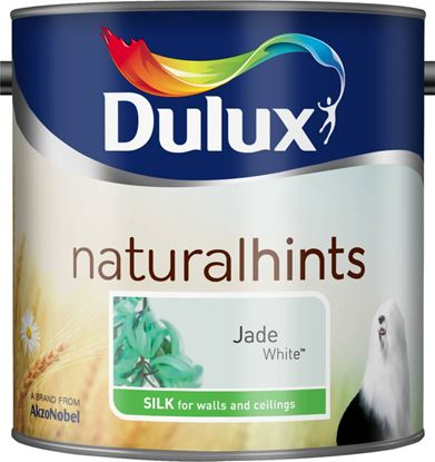 Picture of Dulux Natural Hints Silk 2.5L Jade White