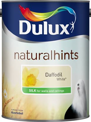 Picture of Dulux Natural Hints Silk 5L Daffodil White