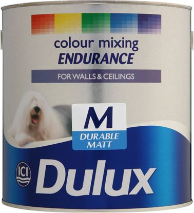 Picture of Dulux Colour Mixing Endurance 2.5L Medium Durable Matt