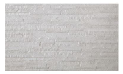 Picture of BCT HD Mini Splitface Wall Tile Snowdonia White 298mm x 498mm x 9.7mm