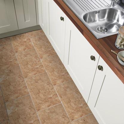 Picture of British Ceramic Tile Cappuccino Dark Beige Multi-use 298x498mm  Dark Beige
