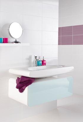 Picture of British Ceramic Tile Brighton White Field 248x398mm  White