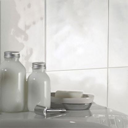 Picture of British Ceramic Tile Everyday Whites Bumpy Gloss 200x250mm  White