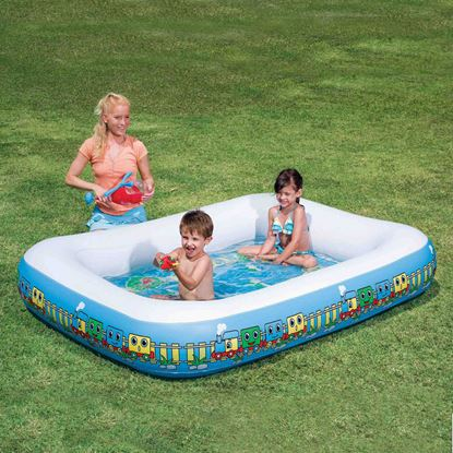 Picture of 123 Train Activity Pool 79 x 59 x 12