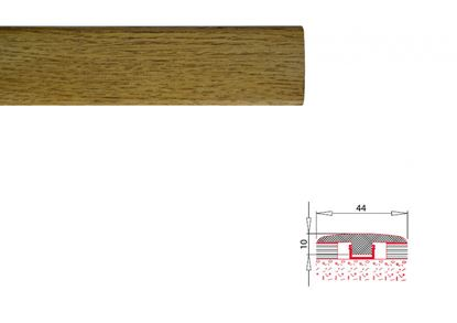 Picture of Flooring Accessories MDF Laminate Threshold Profile 2.70 T section - Oak 8mm