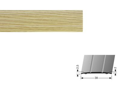 Picture of Flooring Accessories Stick Down Coverstrip 0.90m Oak