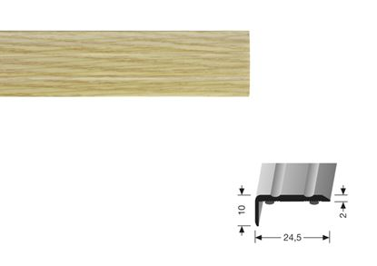 Picture of Flooring Accessories Stick Down End Profile 0.90m Oak