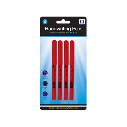 Picture of A Star Handwriting Pens Pack 4