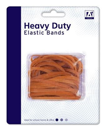 Picture of A Star Heavy Duty Elastic Bands 50g