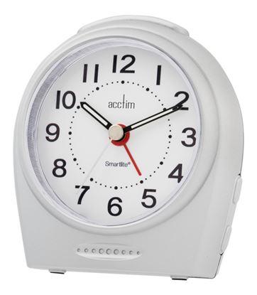 Picture of Acctim Astoria Smartlight Silent Sweep Alarm Silver