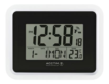 Picture of Acctim Delta Wall Clock White