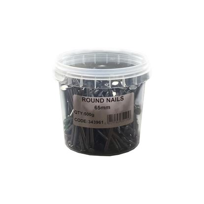 Picture of Bright Round Wire Nails 500g 150 x 6.0