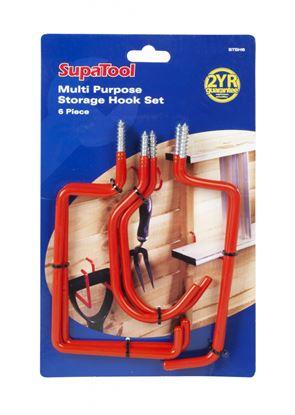 Picture of SupaTool Multi Purpose Storage Hook Set