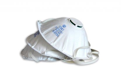 Picture of Vitrex Powertool And Mdf Respirator P2 3 Pack