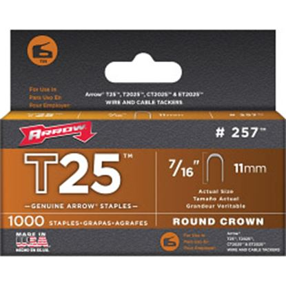 Picture of Arrow T25 Staples 11mm
