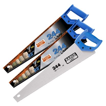 Picture of Bahco 2 x 244 22 Hard point  1 x 244 22 Fine Cut Handsaws Multipack