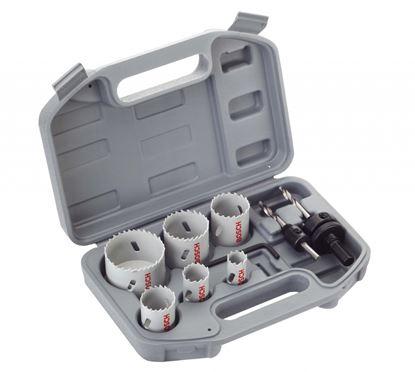 Picture of Bosch Electricians HSS Bi Metal Holesaw Kit 9 Piece