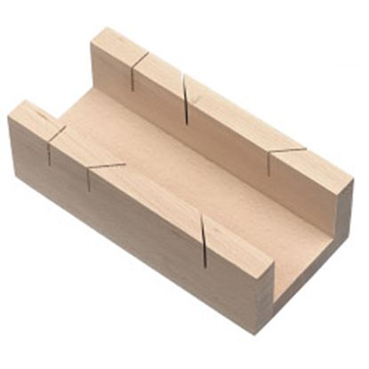 Picture of RST Beechwood Mitre Box 9 228mm
