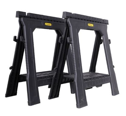 Picture of Stanley Folding Saw Horse Twin Pack