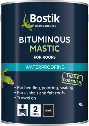 Picture of Bostik Bituminous Mastic for Roofs 2.5L