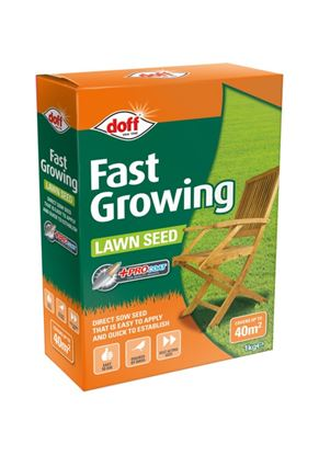Picture of Doff Fast Acting Lawn Seed With Procoat 1kg