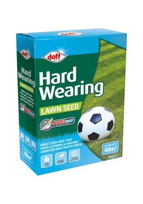 Picture of Doff Hardwearing Lawn Seed With Procoat 1kg