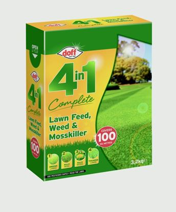 Picture of Doff 4 In 1 Complete Lawn Feed Weed  Mosskiller 3.5kg