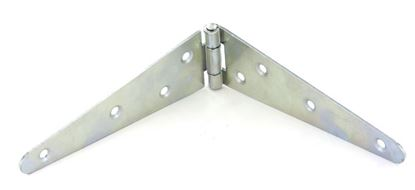 Picture of Securit Strap Hinges Zinc Plated Pair 200mm 8