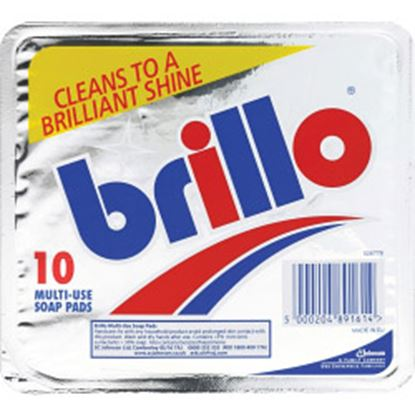 Picture of Brillo Multi Use Soap Pads Pack 10