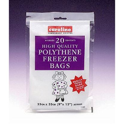 Picture of Caroline Freezer Bags 20 9 x 13 23 x 33cm