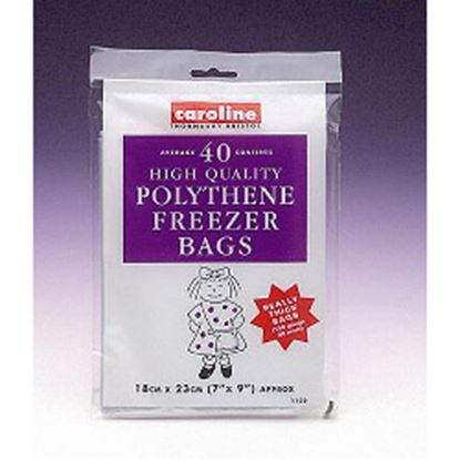 Picture of Caroline Freezer Bags 40 7 x 9 18 x 23cm