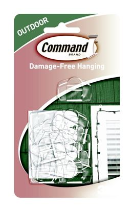Picture of Command Outdoor Light Clips Pack 16
