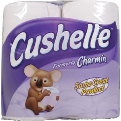 Picture of Cushelle White Toilet Roll Pack 4
