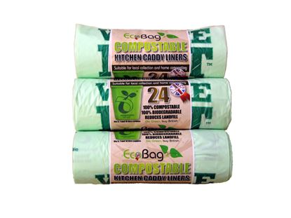 Picture of Ecobag 24 Compostable Caddy Liners 10L