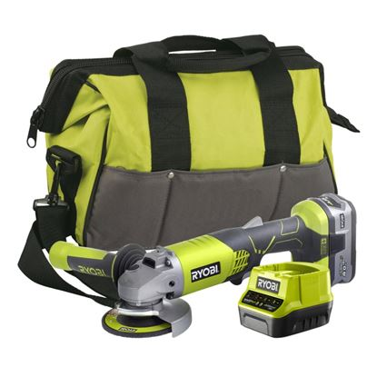 Picture of Ryobi 18V Cordless Angle Grinder 1 x 4.0Ah
