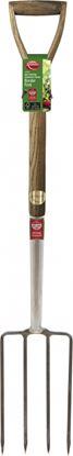 Picture of Ambassador Ash Handle Stainless Steel Border Fork Length 95cm