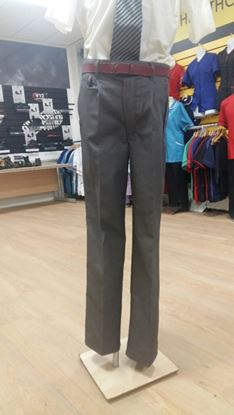 Picture of Grey Janitorial Non Cargo Trousers Gents 42T