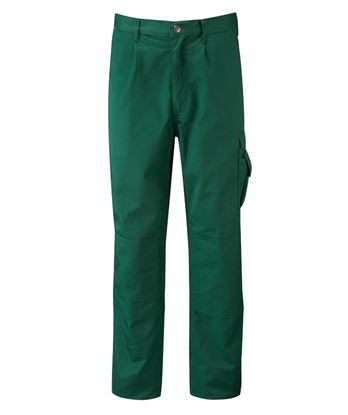 Picture of Cooperative Fruit Of The Loom Jack Mens 300GRM Cargo Trousers 48T Bottle Green