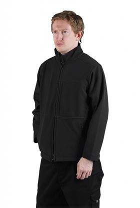 Picture of Glenwear Hatton Softshell Jacket Grey Small