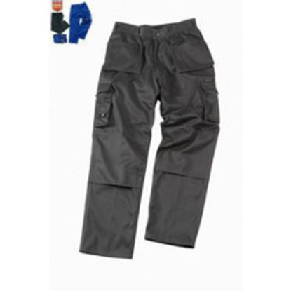 Picture of Glenwear Glenshee Tuff Trousers GreyBlack 38T 34L