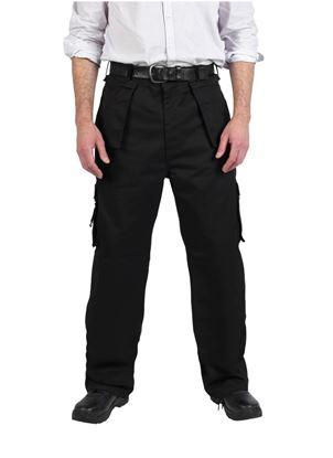 Picture of Glenwear Glenshee Work Trouser Black 48T 34L