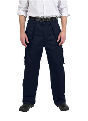 Picture of Glenwear Glenshee Work Trouser Navy 48R 34L
