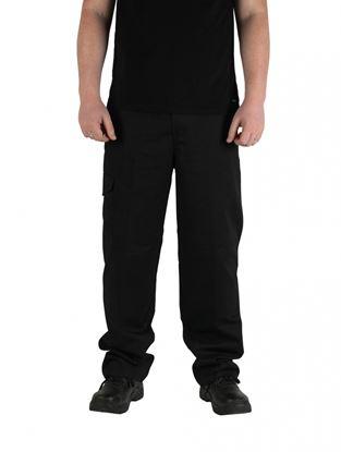 Picture of Glenwear Moriston Black Work Trouser 50W 34L